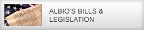 Albio's Bills & Legislation